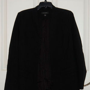 NWT Halogen Clean Open Front Lined Blazer Small